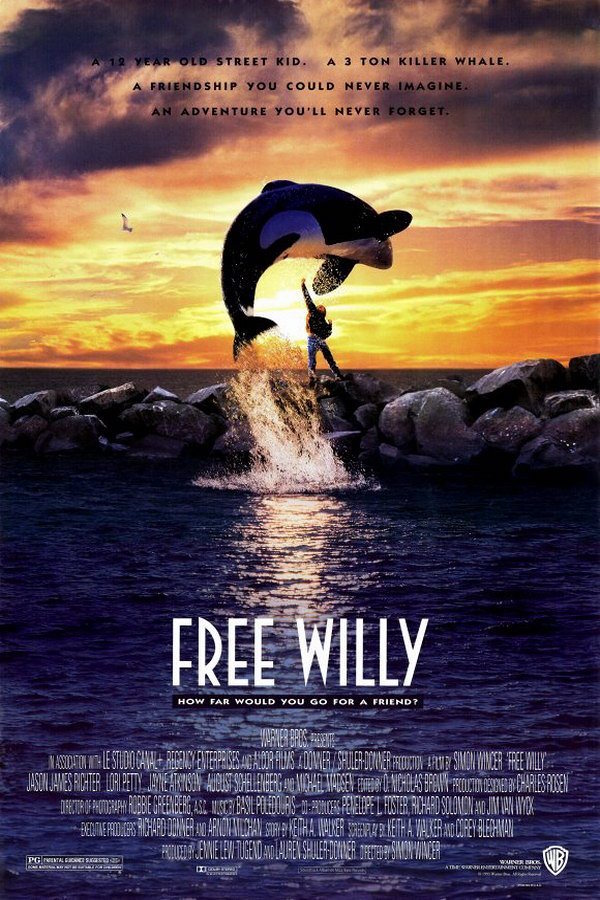 Free Willy (1993) เพื่อเพื่อนด้วยหัวใจอันยิ่งใหญ่
