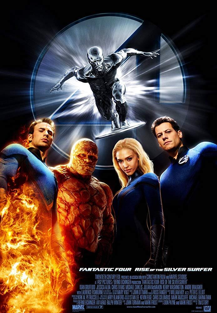 Fantastic 4: Rise of the Silver Surfer (2007) สี่พลังคนกายสิทธิ์ ภาค 2 กำเนิด